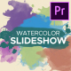 Watercolor Parallax Slideshow - VideoHive Item for Sale