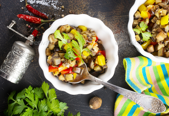 baked vegetables - Stock Photo - Images