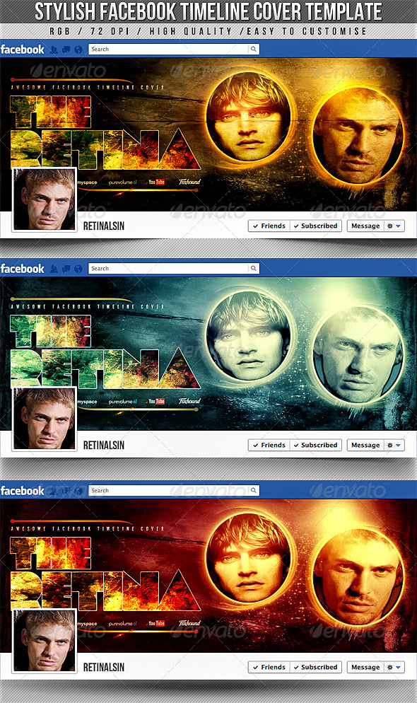 Stylish Facebook Timeline Cover - Facebook Timeline Covers Social Media