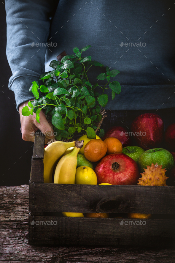 Farmer hands - Stock Photo - Images