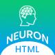 Neuron - Machine Learning & AI Startups HTML Template