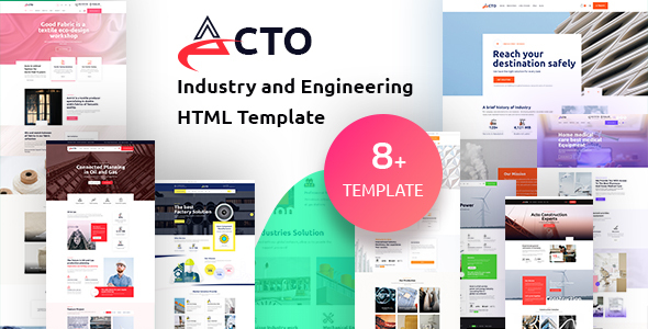Acto - Industry and Engineering HTML Template