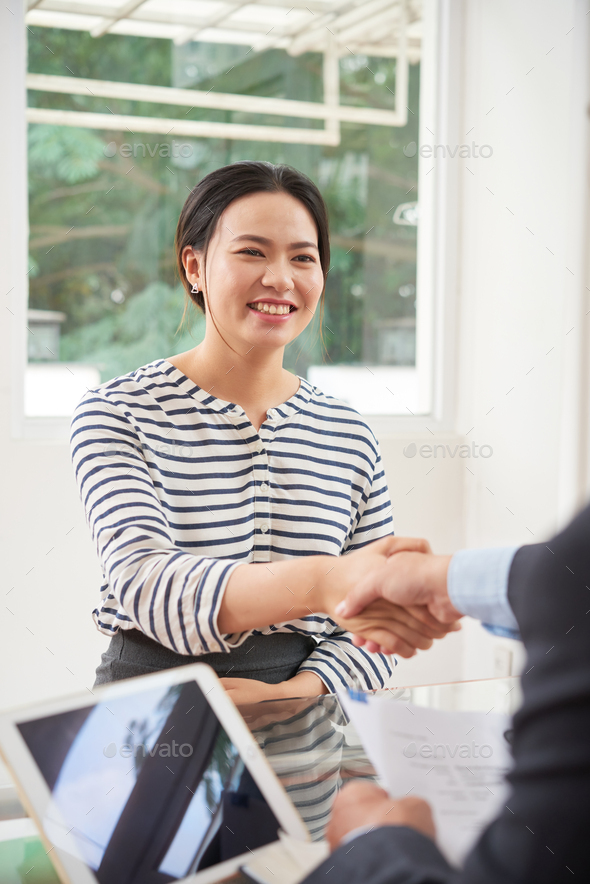 Successful business meeting - Stock Photo - Images