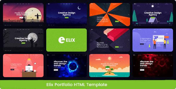 Elix - Responsive Multipurpose Business Template by TonaTheme