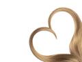 Blonde hair in shape of heart - PhotoDune Item for Sale