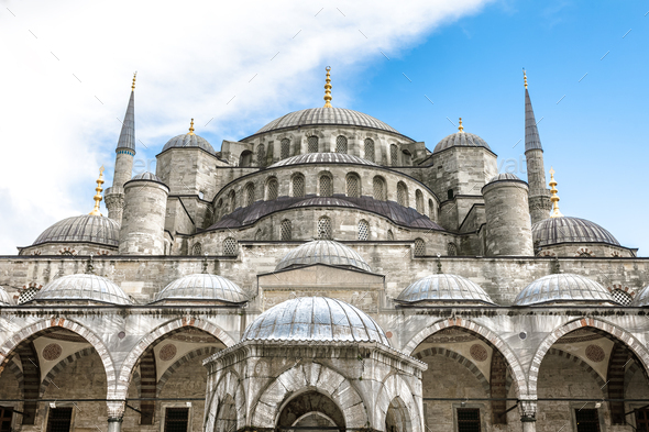 Mosque in Istanbul - Stock Photo - Images