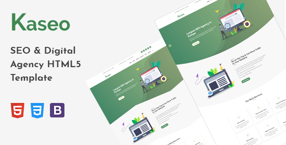 Kaseo - SEO & Digital Agency HTML5 Template by themepresss