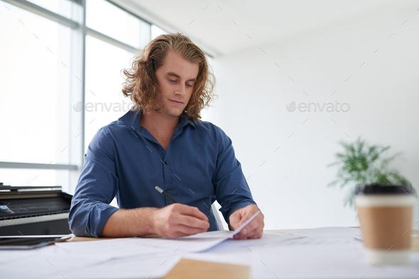 Writing music - Stock Photo - Images