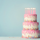Tiered birthday cake - PhotoDune Item for Sale