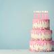 Tiered birthday cake - PhotoDune Item for Sale