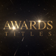 Awards Titles Gold - VideoHive Item for Sale