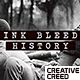 Ink Bleed History Opener / World War Credits / Significant Events of Past / Old Retro Chronicle - VideoHive Item for Sale