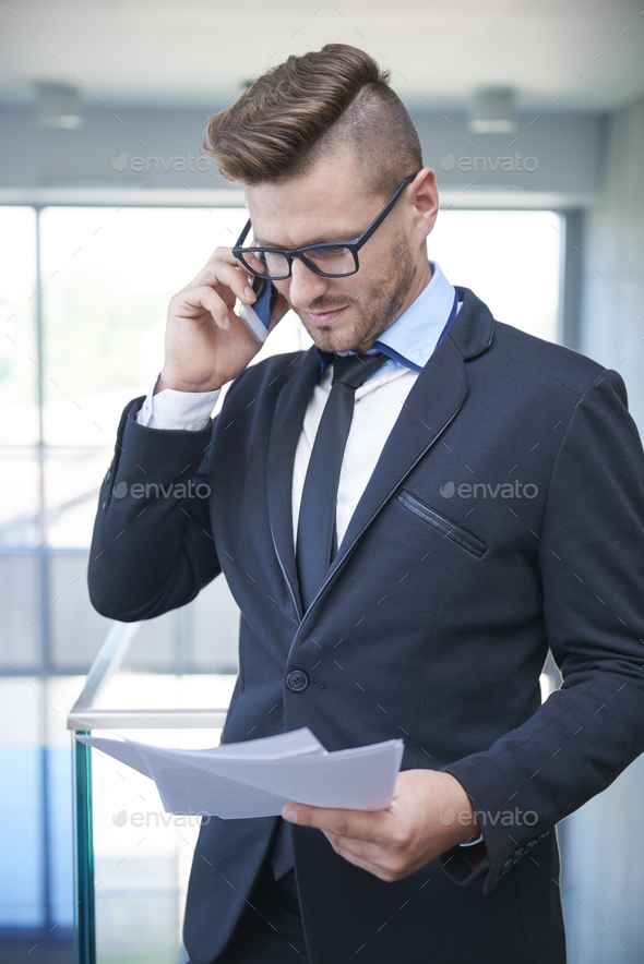 Multi tasking work is demanded in such profession - Stock Photo - Images