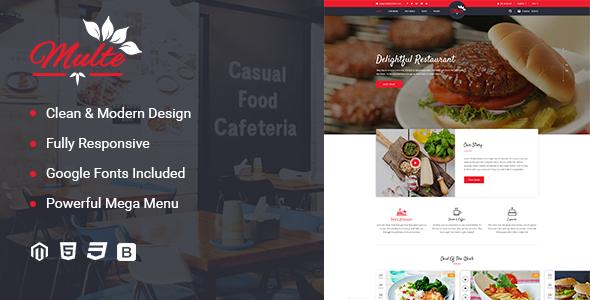 Multe – Responsive Magento 2 Restaurant Theme