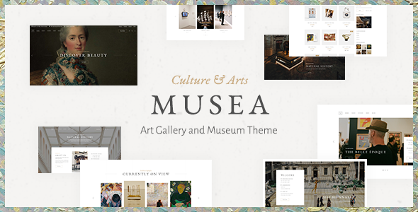 Musea - Art Gallery and Museum Theme