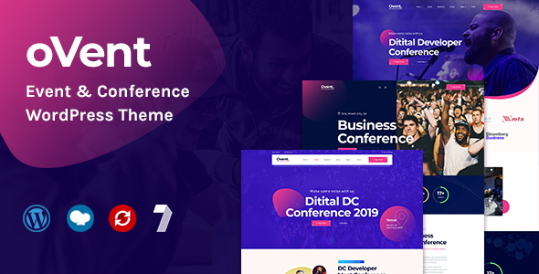 Ovent - Event & Conference WordPress