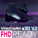 Clean 3D Logo E3D - VideoHive Item for Sale