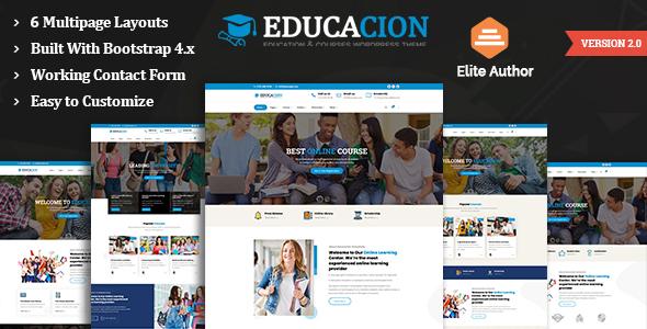 Educacion - Education HTML