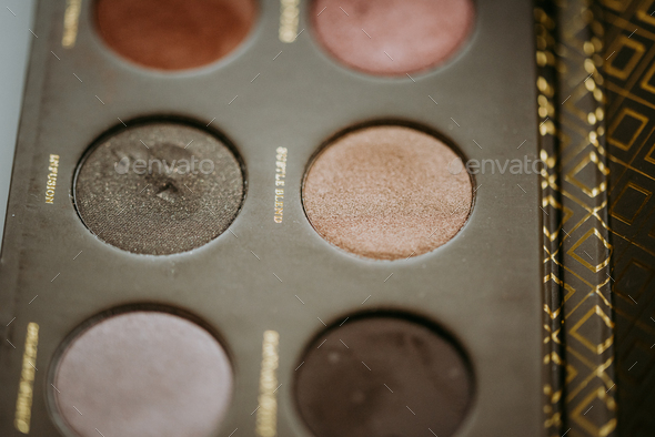 Makeup shadow palette - Stock Photo - Images
