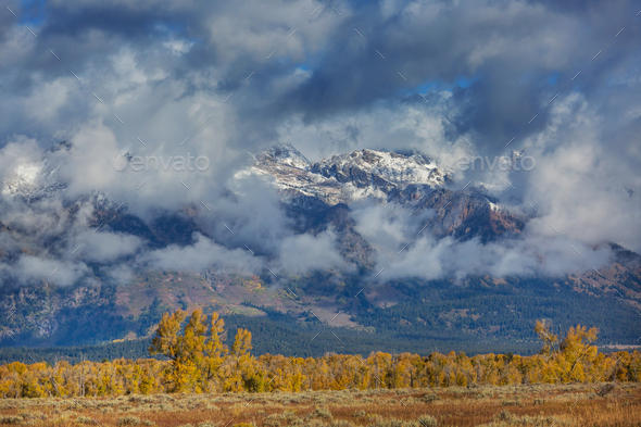 Autumn mountains - Stock Photo - Images