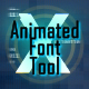 Digital Distortion Animated Font Pack with Tool - VideoHive Item for Sale