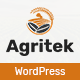 Agritek - Agriculture, Dairyfarm and Gardening WordPress Theme