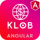 Klob - Angular Online Banking & Payment Processing Template
