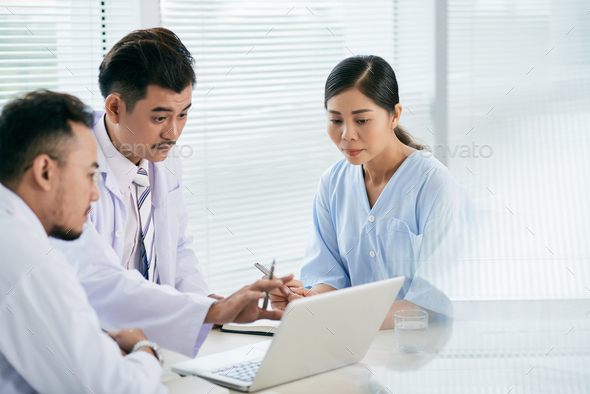 Meeting of doctors - Stock Photo - Images