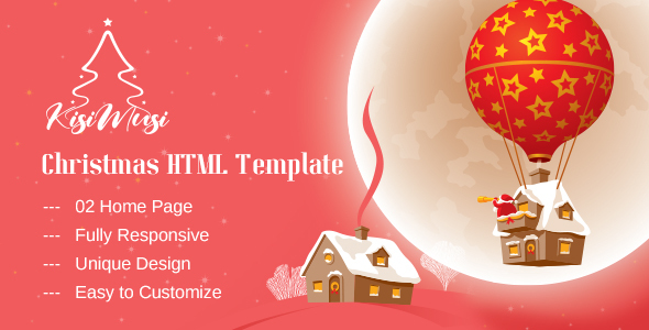 Special Kisimusi - Christmas HTML Template