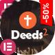 Deeds2 - Religion and Church WordPress Theme