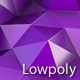 Purple Polygon Waves 90 - VideoHive Item for Sale