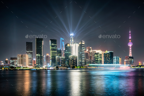 shanghai city - Stock Photo - Images