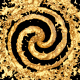 Gold Liquid Spiral - VideoHive Item for Sale