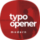 Modern Typography Opener | Dynamic Opener - VideoHive Item for Sale