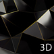Black Polygon Waves 92 - VideoHive Item for Sale