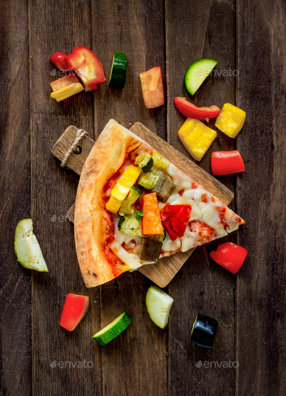 sliced pizza - Stock Photo - Images