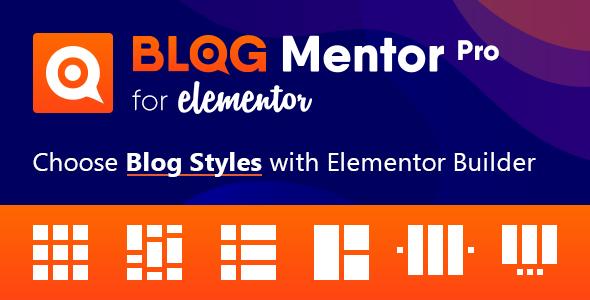 Blogmentor Pro for Elementor nulled