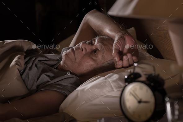Man insomnia - Stock Photo - Images