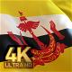 Brunei Flag - 4K - VideoHive Item for Sale