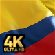 Colombia Flag - 4K - VideoHive Item for Sale