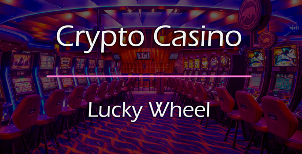 Lucky Wheel / Wheel of Fortune Game Add-on for Crypto Casino