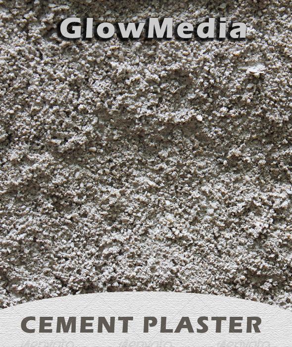 Cement Plaster - Miscellaneous Textures