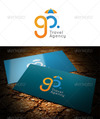 Go travel agency logo preview.  thumbnail