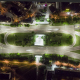 Crossroad Aerial View at Night - VideoHive Item for Sale
