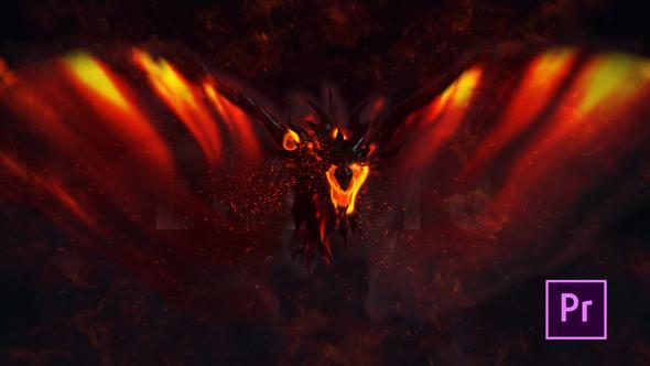 Fire Dragon Title – Premiere Pro