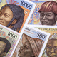 Old Central African money a business background - PhotoDune Item for Sale