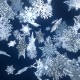 Snowflakes Logo Reveal - VideoHive Item for Sale