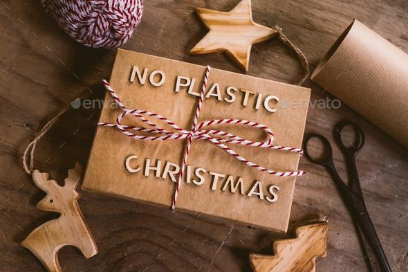 Zero waste Christmas - Stock Photo - Images