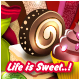 Life is Sweet! A World Made of Confectionery Illustration - GraphicRiver Item for Sale