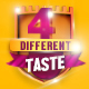 Four Different Taste logo Pack - VideoHive Item for Sale